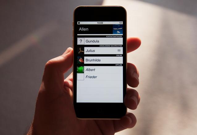 Das neue skunkit auf dem iPhone